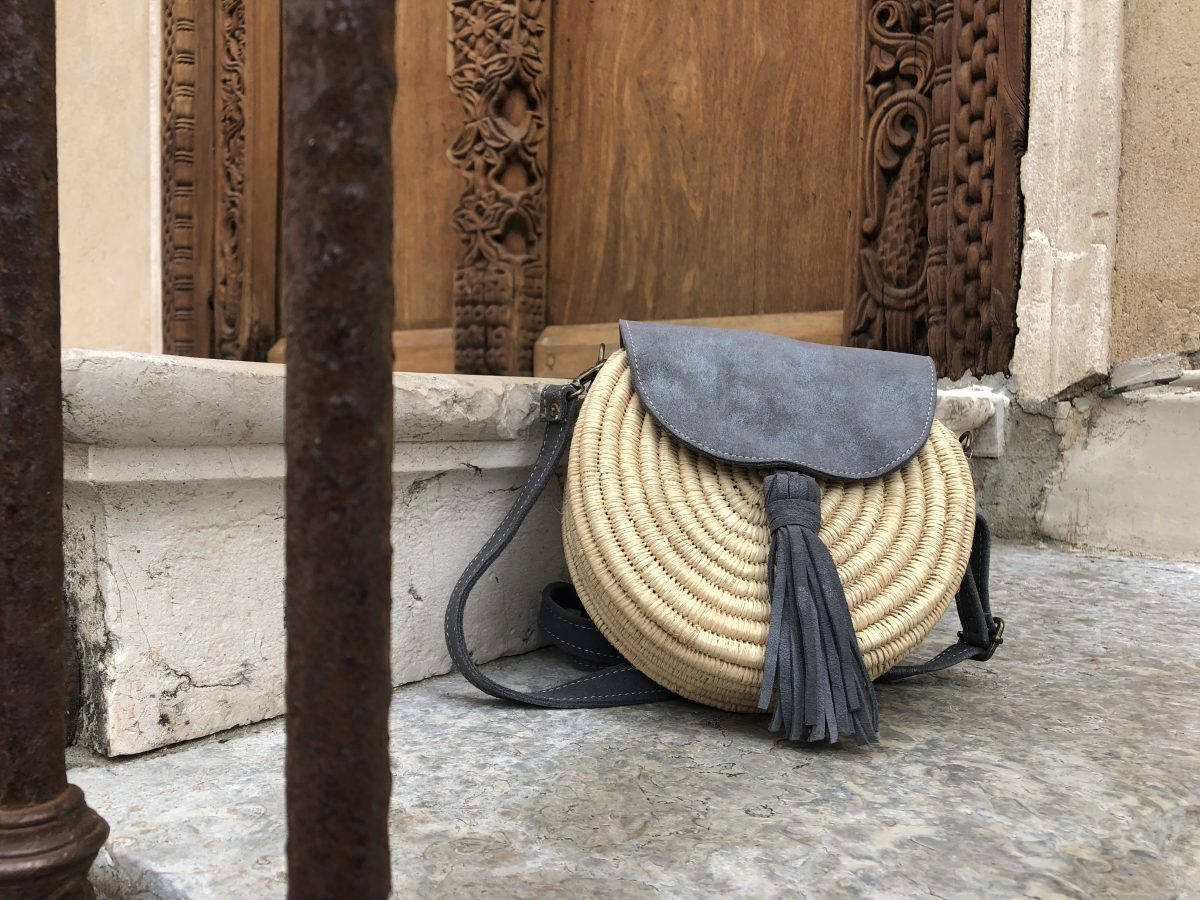 raphia bag