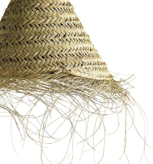 suspension feuille de palmier