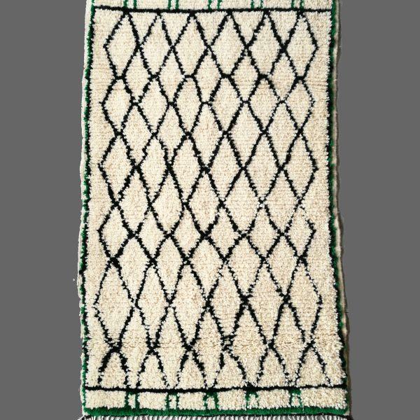 tapis beni ouarain vert
