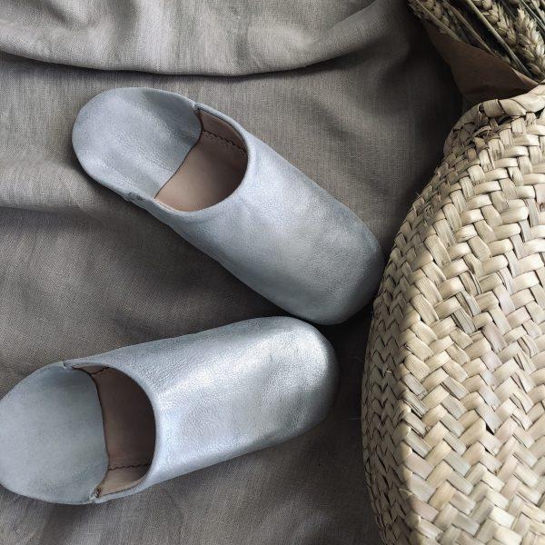 babouche silver