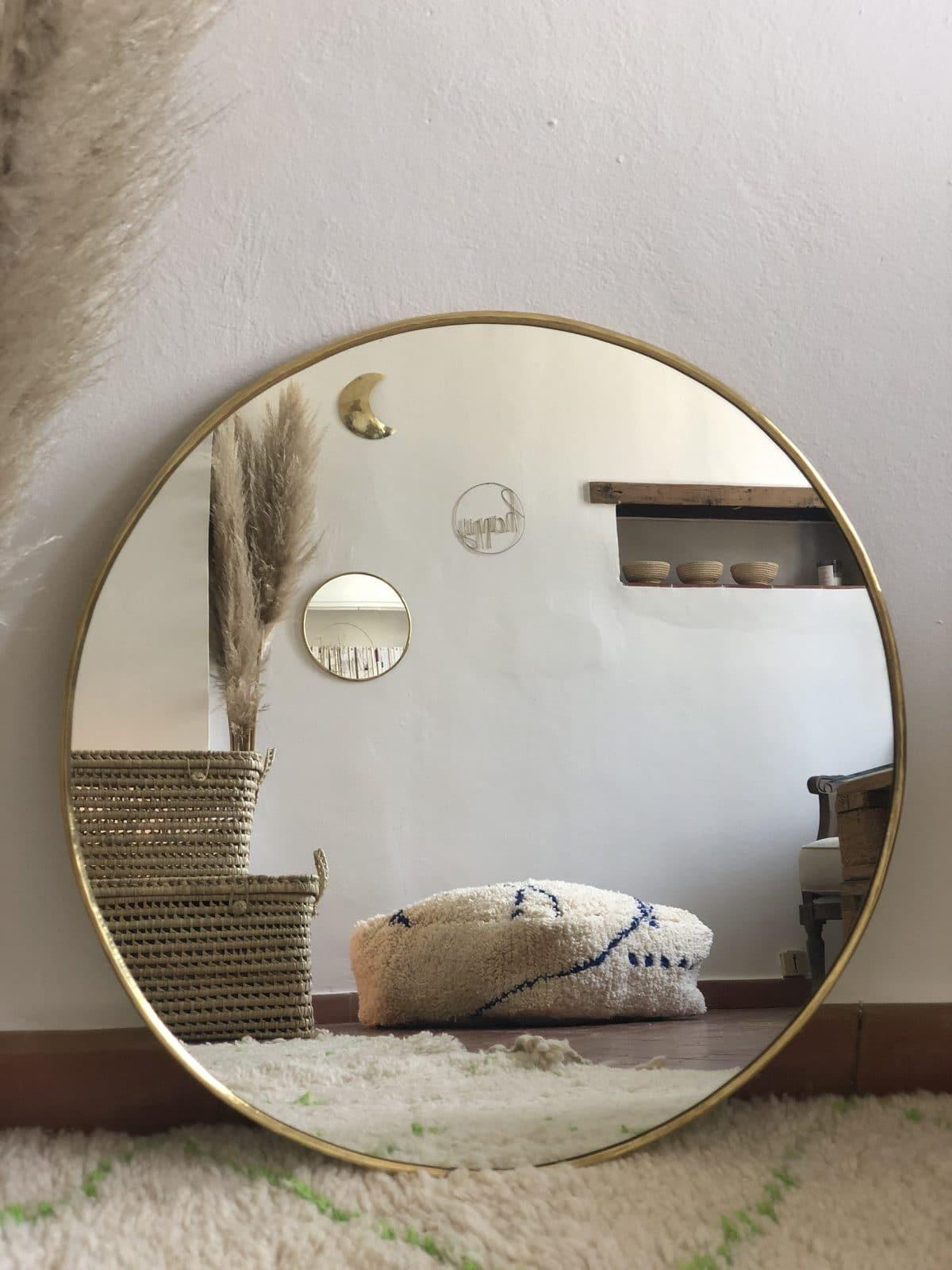 miroir rond M