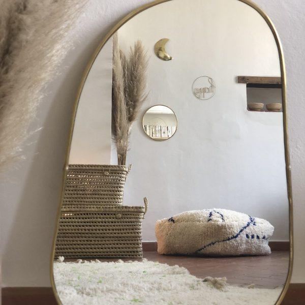 miroir trapèze grand