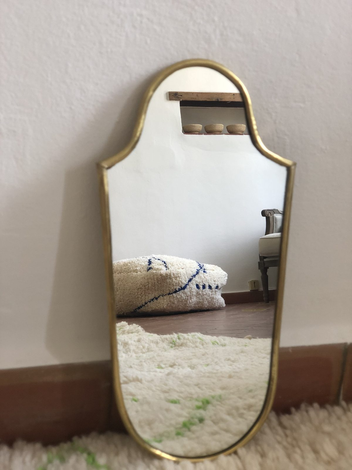 miroir blason mini