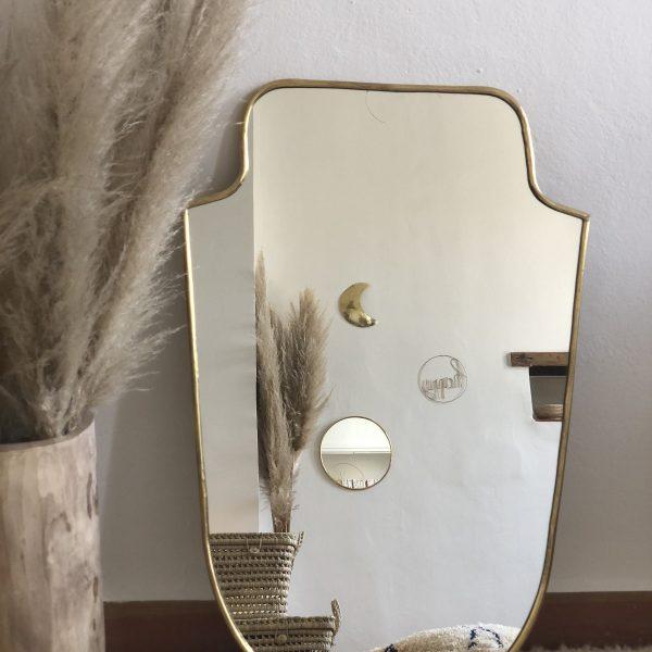 miroir blason grand