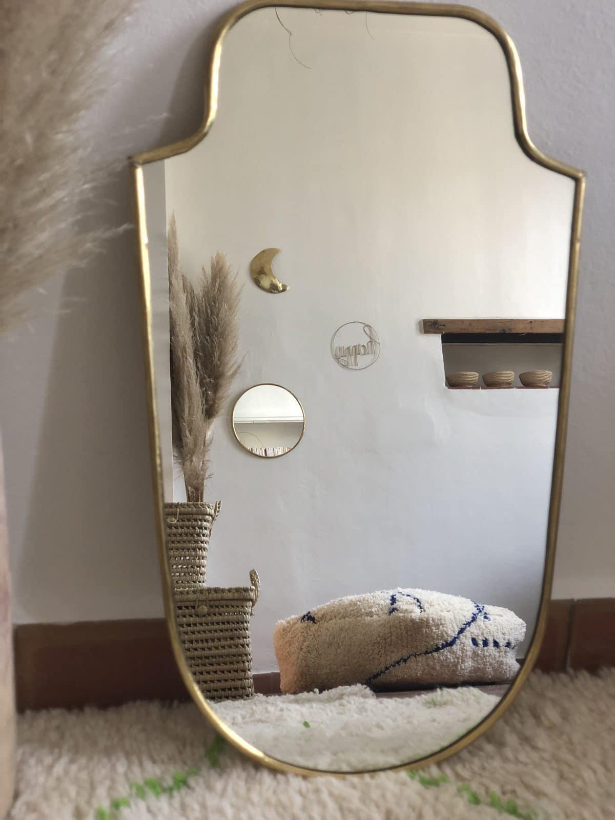 miroir blason moyen