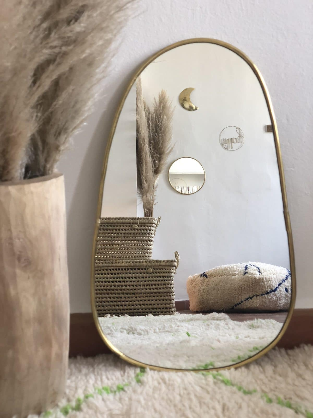 miroir trapèze petit