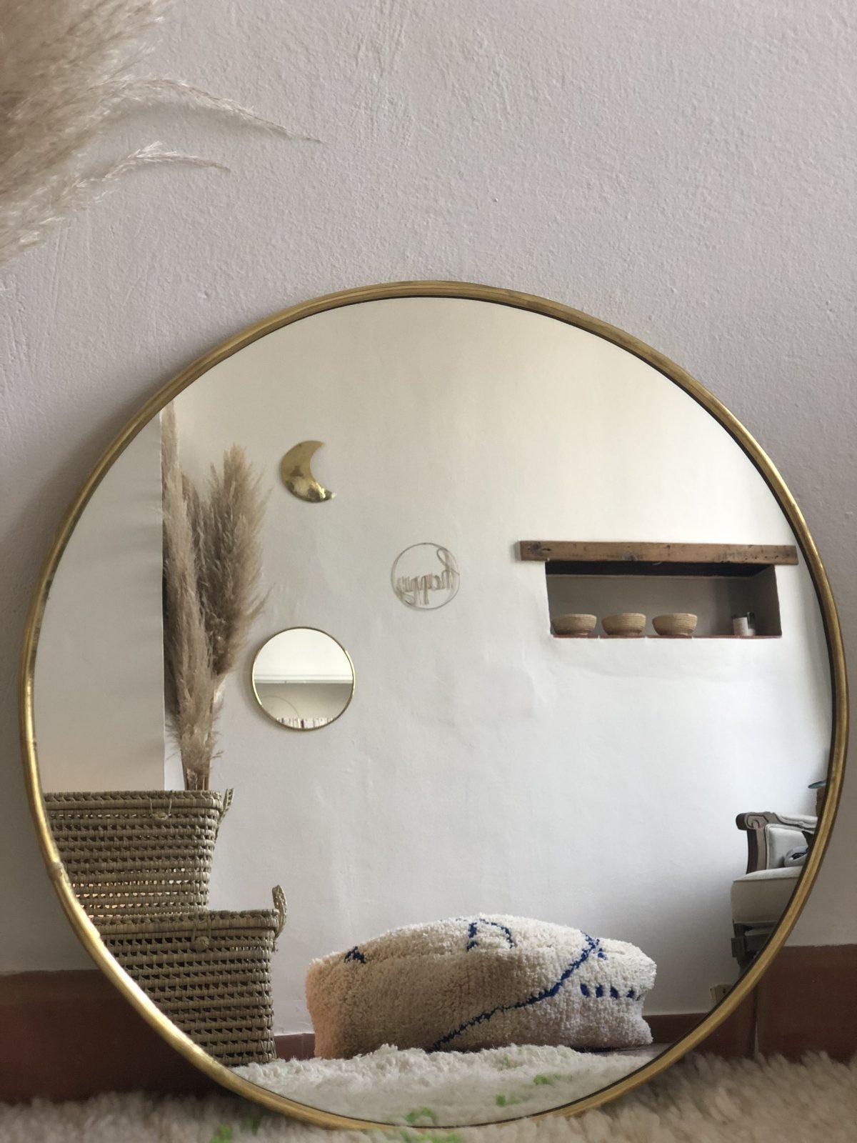 miroir rond L