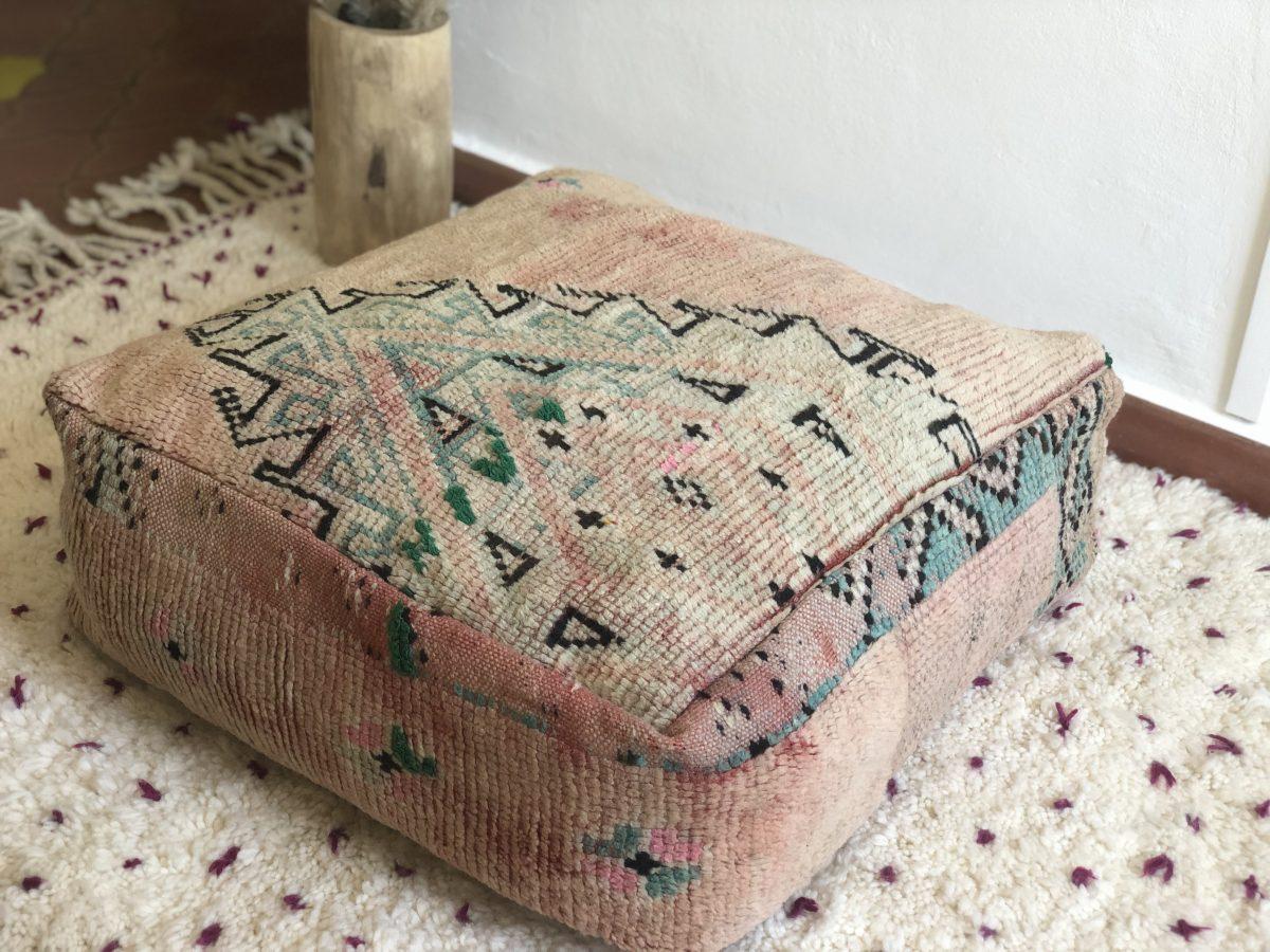 pouf boujaad vintage