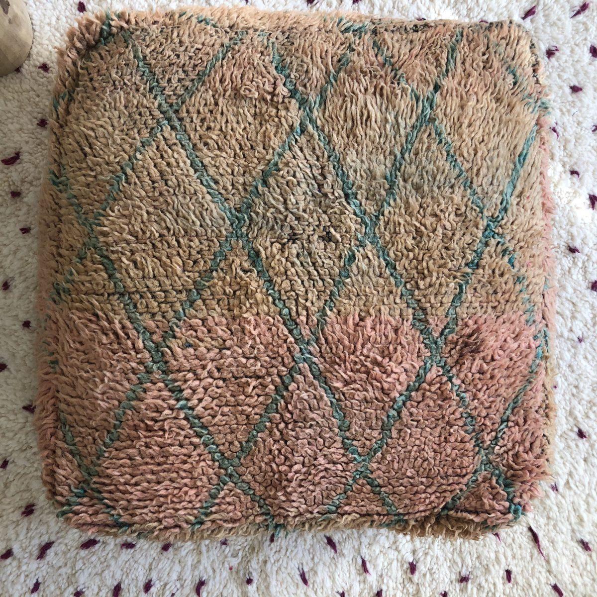 pouf vintage
