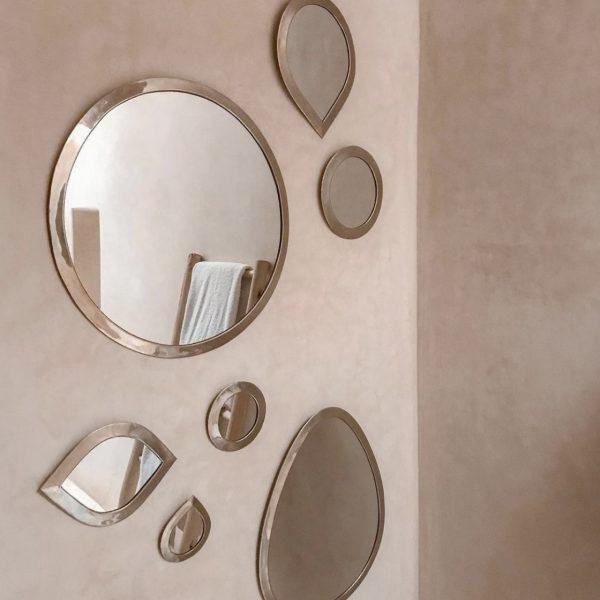 miroir ovale L